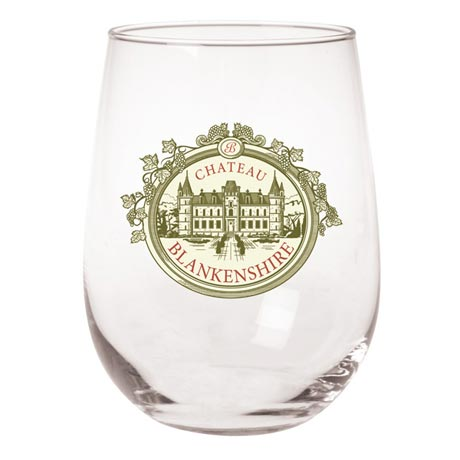 Personalized Wine Glasses - Stemless