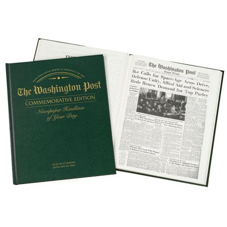 Personalized Washington Post Birthday Edition
