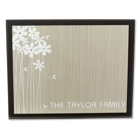 Personalized Glass Table Mats