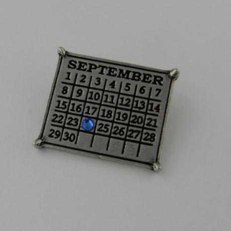 Personalized Classic Calendar Charm