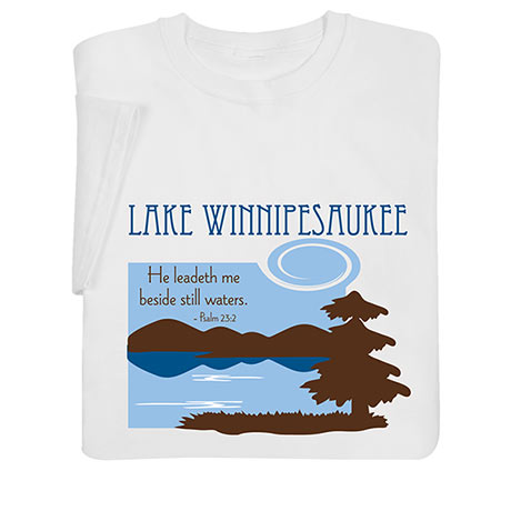 Personalized 'He Leadeth Me Beside Still Waters Shirts'