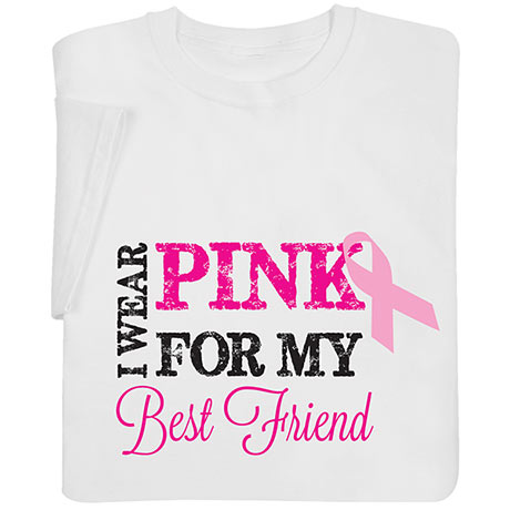 Personalized 'I Wear Pink' Shirts