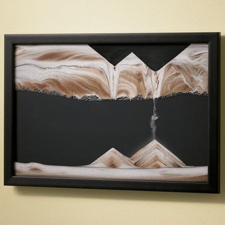 Wall Mounted Midnight Movie Sand Picture - Rotating Wall Art by Klaus Bosch