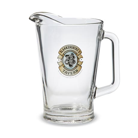 Personalized Latin Tavern Pitcher