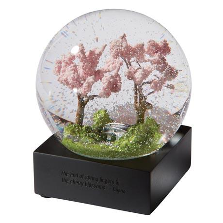 Four Seasons Snow Globes - Spring