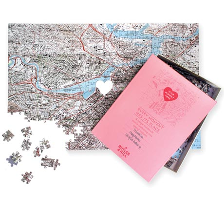 "Personalized ""Where We Met"" Puzzle"