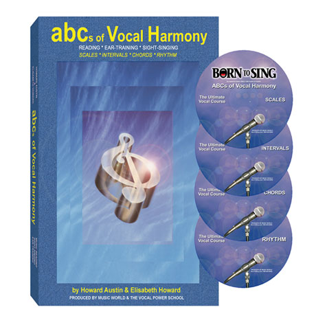 The ABC's Of Vocal Harmony Book and CDs