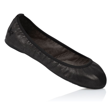 Butterfly Twists Ballet Flats - Black