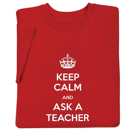 "Personalized  ""Keep Calm "" Shirts"