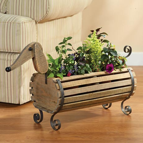 Dachshund Indoor Outdoor Planter