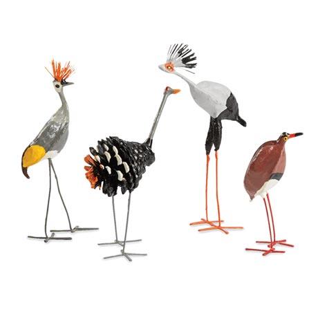 Seedpod Birds from Zimbabwe (set of 10)