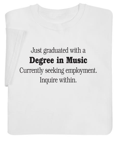 Custom Job Hunt Shirt