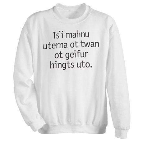 Human Nature Sweatshirt