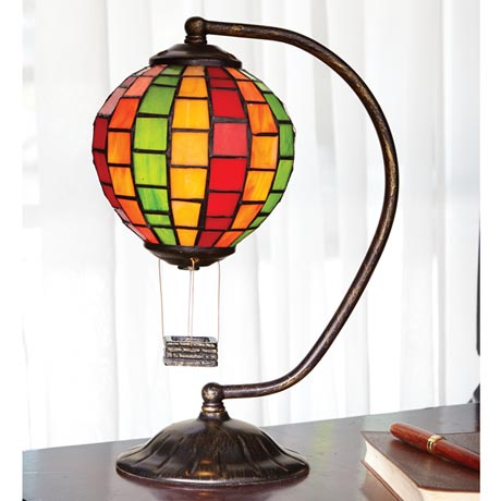 hot air balloon lamp lookup beforebuying. Black Bedroom Furniture Sets. Home Design Ideas