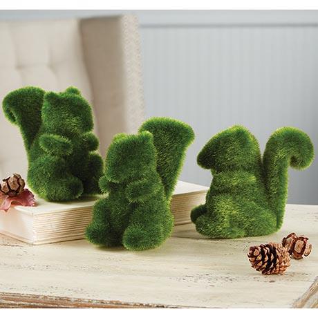 Three Grass Squirrels