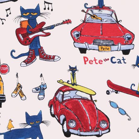 Pete the Cat Kids Pajamas - Natural Color