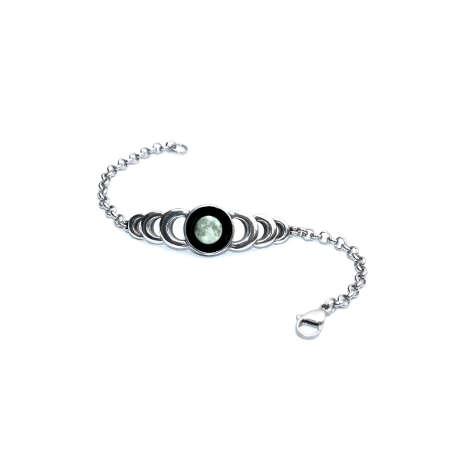 Custom Moonglow Ripple Bracelet