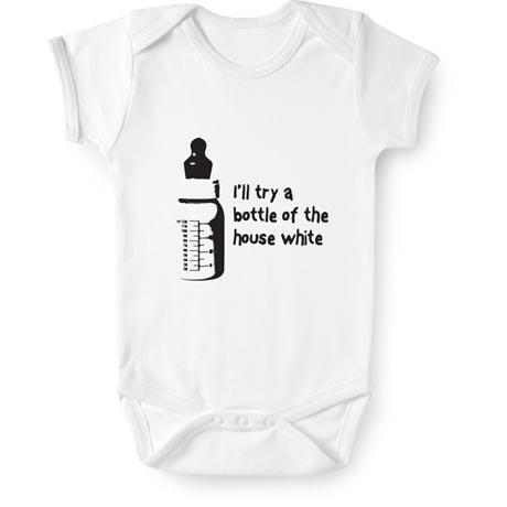 I'll Try a Bottle of the House White Romper