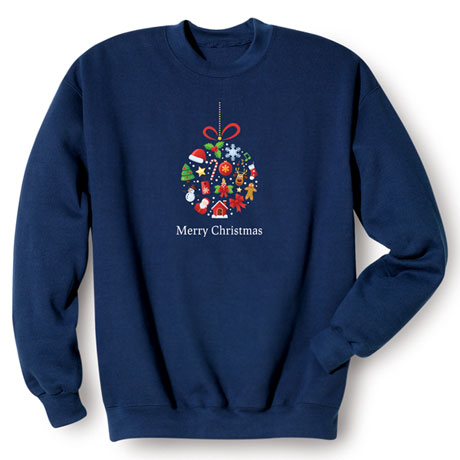 Christmas Ornament Sweatshirt