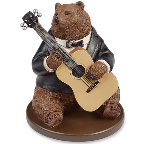 Create Your Own Animal Band - Bear With Guitar