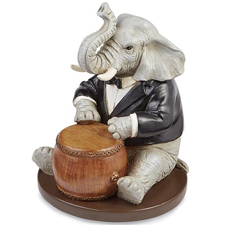 Create Your Own Animal Band - Elephant With Drum