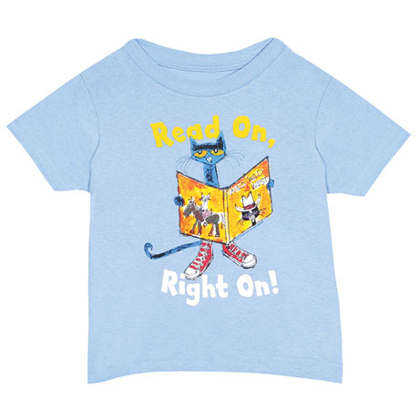 Pete the Cat Shirts - Read On