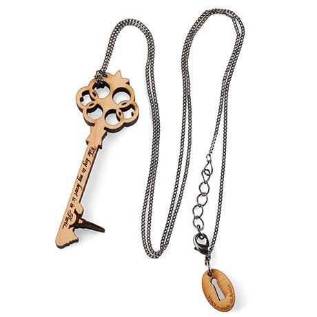 Key To My Heart Skyline Necklace - Paris