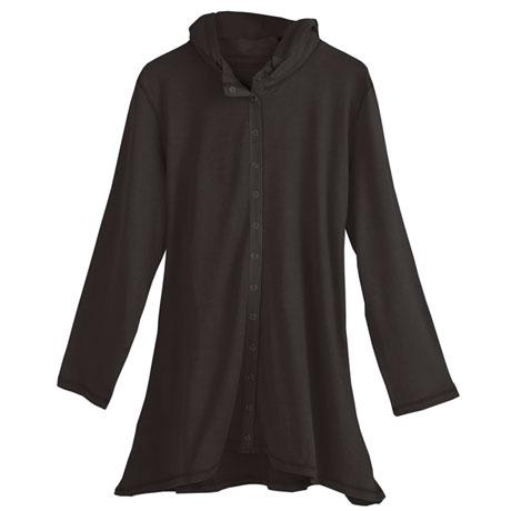 Hooded Snap Jacket