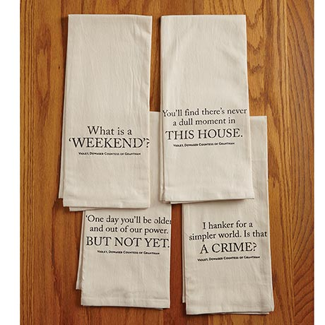 Downton Abbey® Tea Towels
