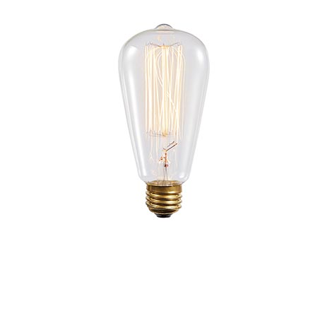 Replacement Edison-Style Light Bulb