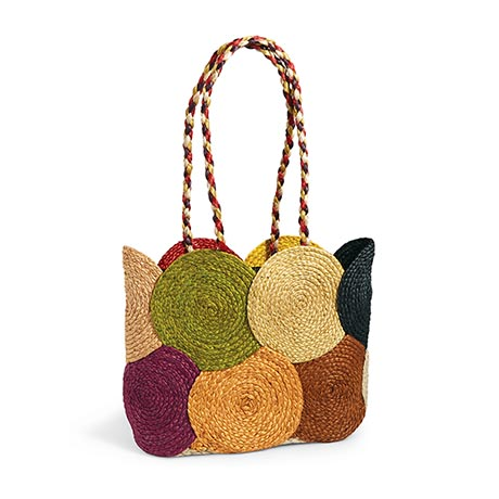 Jute Rounds Tote