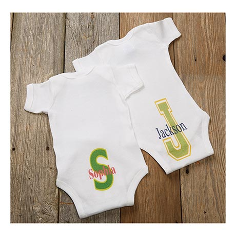 Personalized Baby Snapsuit