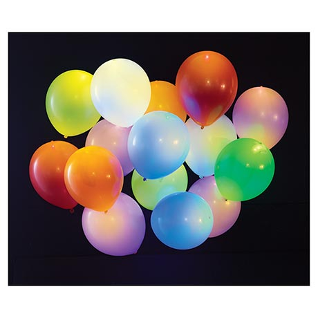 LED Light Up Balloons Set of 15