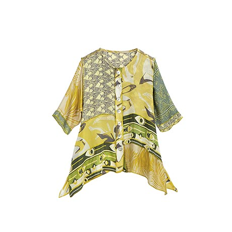 Chartreuse Happy Shirt