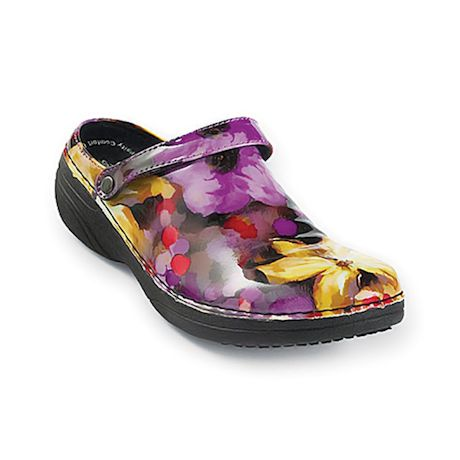 Convertible Floral Clogs