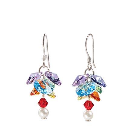 Crystal Clusters Earrings