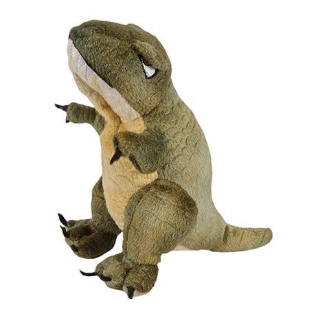 Dinosaur Plush Finger Puppets - T-Rex