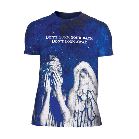 Doctor Who Weeping Angels T-Shirt