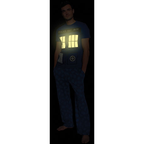 Doctor Who Tardis Glow-in-the-Dark T-Shirt