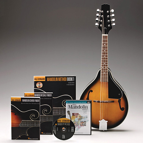 Hal Leonard Mandolin Instruction Kit with CD & DVD