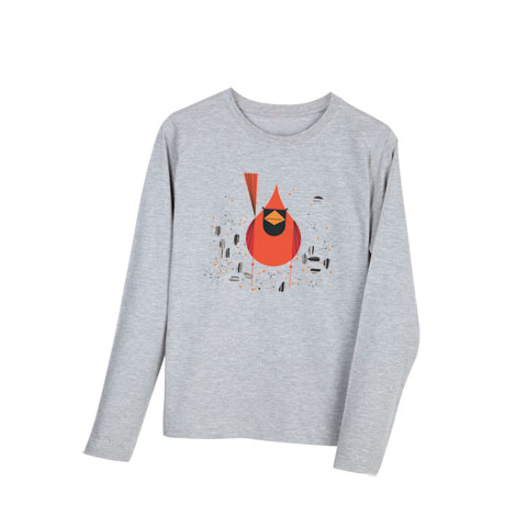 Charley Harper T-Shirt - Cardinal