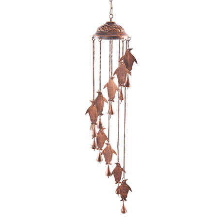 Penguins Wind Chime