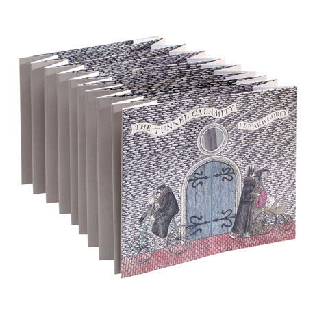 Edward Gorey: The Tunnel Calamity Die-Cut Book