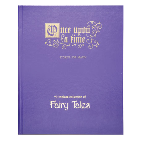 Deluxe Personalized Fairy Tales Book
