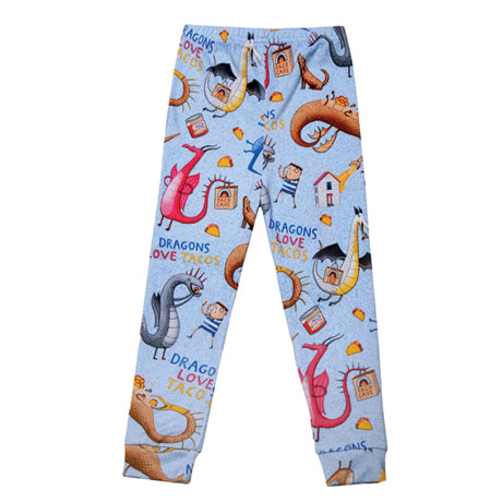 Dragons Love Tacos Pajamas