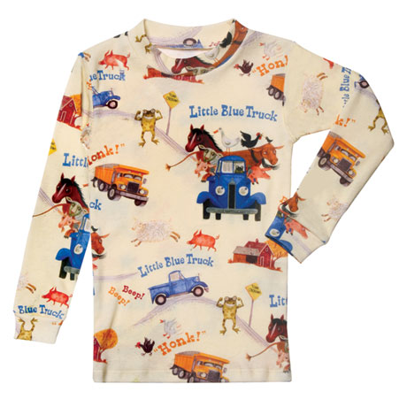 The Little Blue Truck Two Piece Printed Pajamas