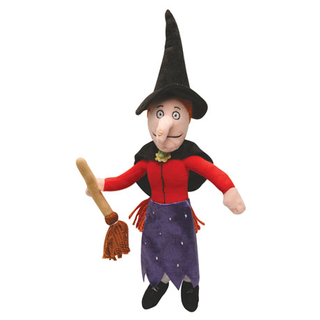 Room on the Broom - Witch Plush
