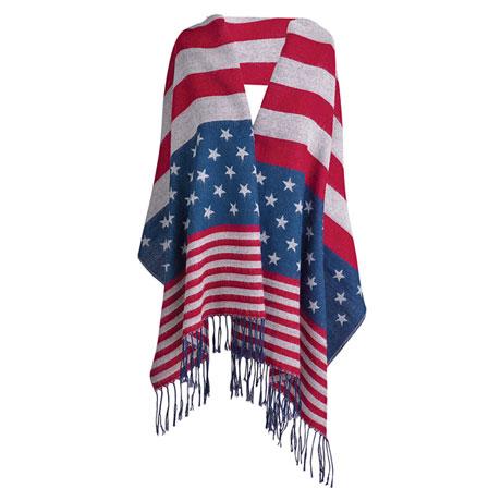 Stars & Stripes Scarf/Wrap