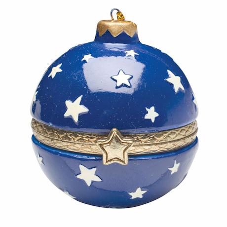 Porcelain Surprise Christmas Gift Box Ornaments