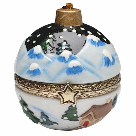 Porcelain Surprise Christmas Gift Box Ornaments | 94 Reviews | 4.7 ...